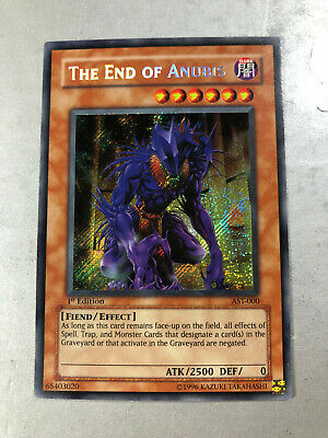 Yu-Gi-Oh THE END OF ANUBIS AST-000 1st Edition Ultra Rare