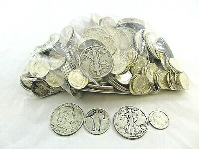 228 U.S. 90% Silver Coinage 1964 - Before $50.00 Face Value Fair - Uncirculated