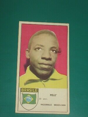 EXTREMELY RARE CARD PELE' FROM LATE 50's