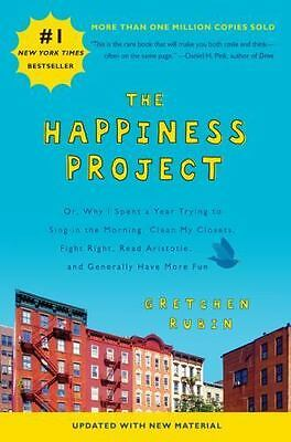 The Happiness Project by Gretchen Rubin (2015, Paperback, Revised)