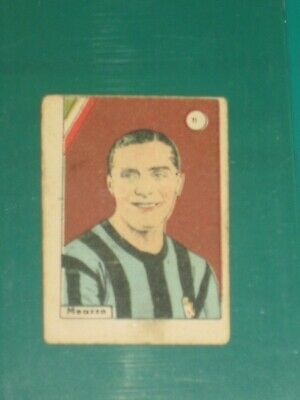 EXTREMELY RARE CARD GIUSEPPE MEAZZA FROM 40's - EXCELLENT CONDITIONS