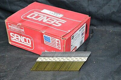 "Senco Framing Nails Full Round Head Smooth Shank  3"" X .131 Box 2500 34* Case"