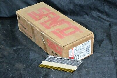 "Senco Framing Nails Full Round Head Smooth Shank  2"" X .113 Box 2500 34* Case 6d"