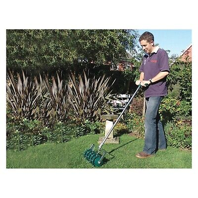 [2 Pack] Greenkey Roll Lawn Aerator 30cm 700