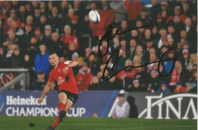 ULSTER RUGBY UNION: JOHN COONEY SIGNED 6x4 ACTION PHOTO+COA