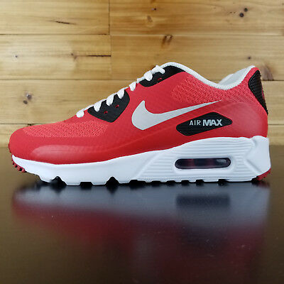 new arrival 71c20 46b1f NIKE AIR MAX 90 Ultra Essential White Red black 819474-600 training Shoes  SIZE 6