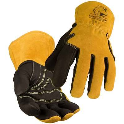 Black Stallion BSX BM88 Premium Pigskin & Cowhide MIG Welding Glove, Medium