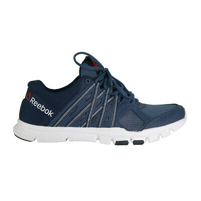 Reebok Men's Yourflex Train 8.0 Athletic Shoes Navy Blue 8