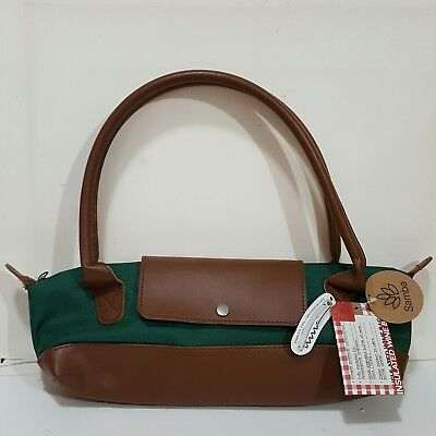 Samba Wine Bottle Thermal Insulated Cooler Bag Tote Carrier Purse Handbag Nwt