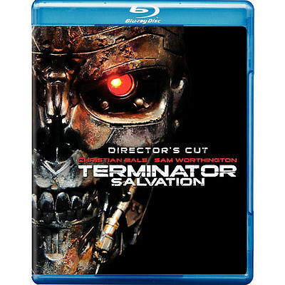 Terminator Salvation (Blu-ray Disc, 2009, 2-Disc Set, Director's Cut) NEW Sealed