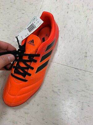 7da468fc303 adidas Ace 17.4 in Indoor Men s Soccer Shoes Cleats Size 7.5 Orange Solar  Red