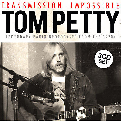 TOM PETTY New Sealed 2019 CAREER SPANNING LIVE CONCERTS 3 CD BOXSET