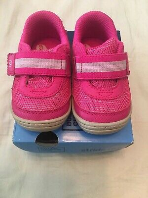 161c743818 Stride Rite Infant Baby Girl Pink Shoes Jessie Sneakers Size 4 Infant  Toddler
