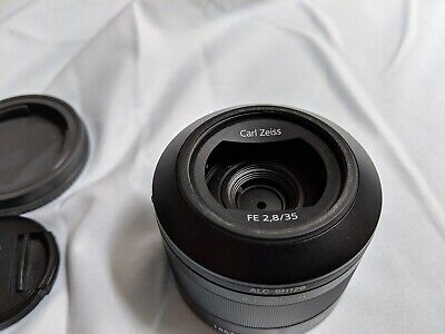 NEW Sony Sonnar T* FE 35mm F2.8 ZA Full-frame E-mount Lens SEL35F28Z