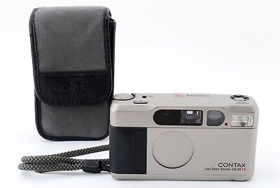 【Exc+++】Contax T2 Carl Zeiss Sonnar F2.8 38mm Film camera from Japan 394967