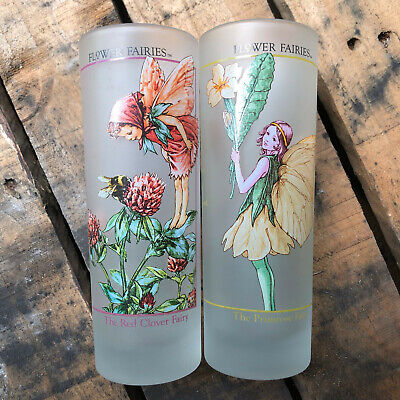 2 tumblers, featuring the fairies of Cicely Mary Barker - as new condition