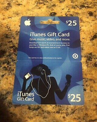 Apple App Store & Itunes Gift Card $25 - Free Shipping