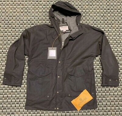 31feac8f037b0 NEW FILSON LARGE Shelter Packer Hood Button Oiled Finish Cotton two ...