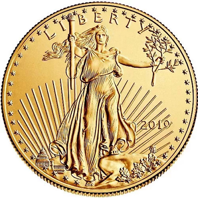 Eighty (80) quarter ounce 2019 American Gold Eagles (20 oz gold) - FREE shipping