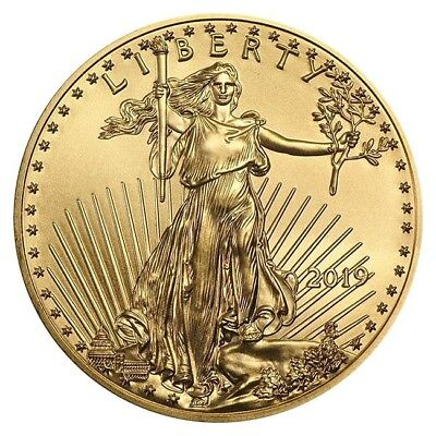 Forty (40) HALF ounce 2019 American Gold Eagles (20 oz total gold) - FREE ship