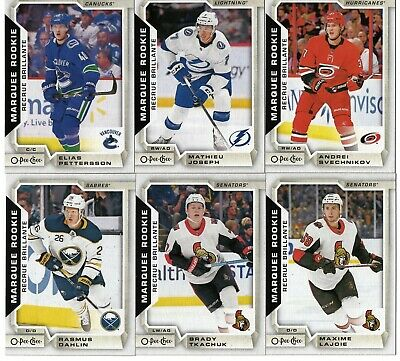 2018-19 Ud Series Two : O-Pee-Chee Update Complete Set 601 To 650 = 50  Cards !