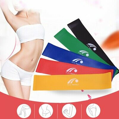 New Elastic Workout Resistance Bands Loop Cross Fitness Yoga Booty Exercise Band