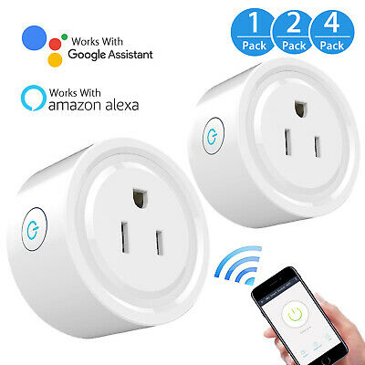 OUTDOOR SMART PLUG, Wireless Socket Outdoor Wifi Outlet With