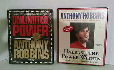 Tony Robbins Unleash The Power Within & Unlimited Power Tape Courses