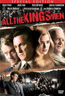 All The Kings Men (DVD, Widescreen) - **DISC ONLY**