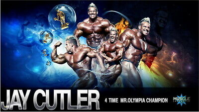 """008 Jay Cutler - Body Building Great Muscle Player 24""""x14"""" Poster"""
