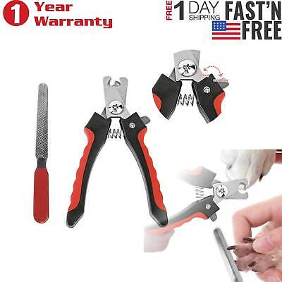 Stainless Steel Pet Nail Clippers Professional Trimmer Dog Cat Grooming Tool