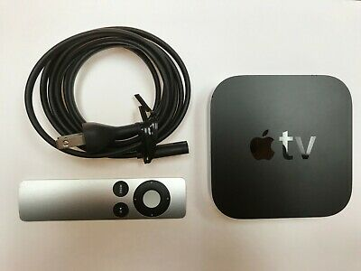 Apple TV (2nd Generation) MC572LL/A 8GB Media Streamer - Black