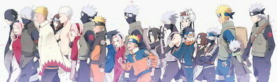 "753 Naruto - Last Uzumaki NINJA Fighting Japan Anime 80""x24"" poster"