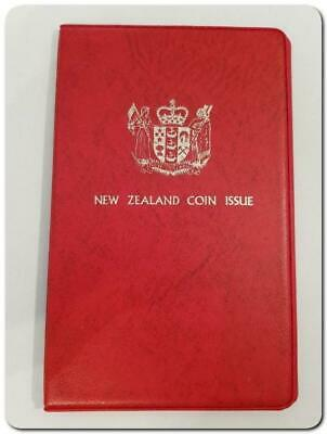 1973 - NEW ZEALAND - souvenir coin set issued by the New Zealand Treasury..