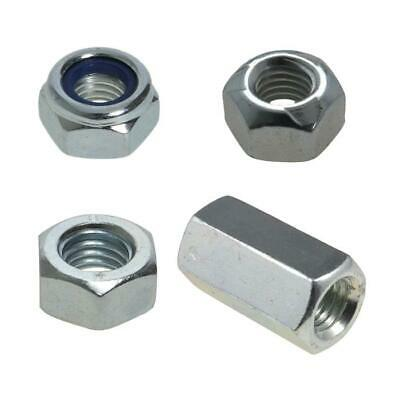 M16 (16mm) x 2.00 pitch NUTS Metric Coarse Zinc Plated