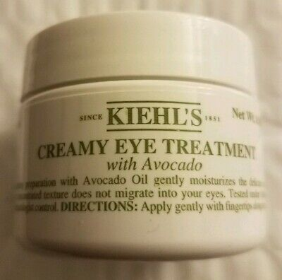 Kiehl's Avocado Eye Treatment Large 0.95Oz Sealed New Fresh Batch 18S1 Exp:01-22