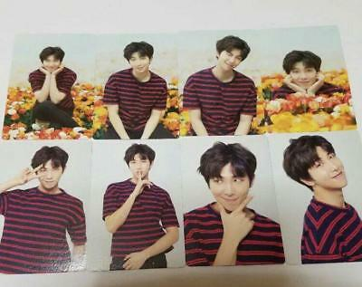 "BTS World T ""LOVE YOURSELF"" Japan - Official Mini Photocard : RM - Full Set 8"