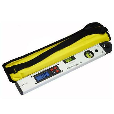 400mm LCD Electronic Digital Angle Finder Meter Protractor Dual Spirit Level BE