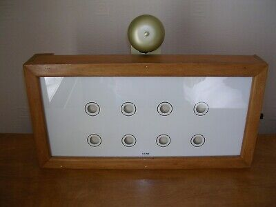 Servant Call Box / Bell Indicator Gent of Leicester