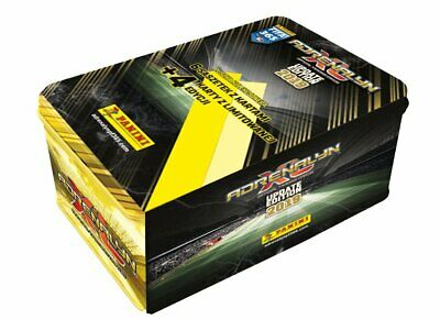 2019 Panini ADRENALYN XL FIFA 365 UPDATE EDITION MEGA TIN 6 boosters 4 LIMITED