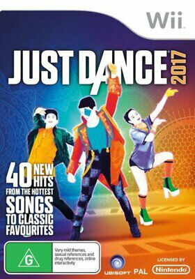 Just Dance 2017 Wii Game NEW
