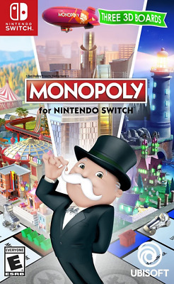 Monopoly Switch Game NEW