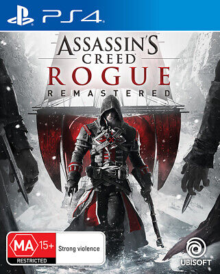 Assassins Creed Rogue Remastered PS4 Game NEW
