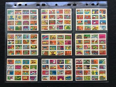 1970 Stacks of Stickers Complete Set of 44 Topps Cards - Very Good to FCC