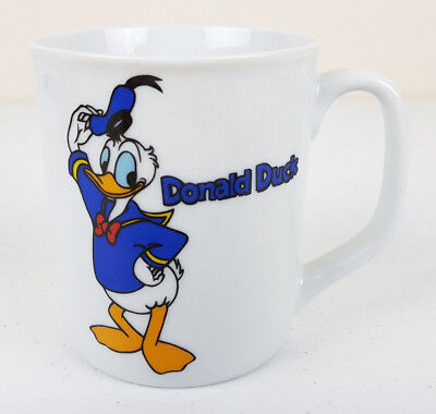 Donald Duck White Fine China Disney Westminster Mug
