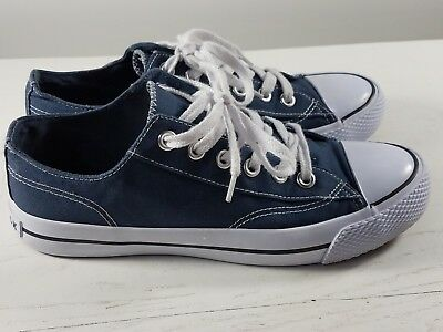 8ff4c2df77 AIRWALK MEN S LEGACEE Sneakers Grey And Blue White Canvas Size US 10 ...