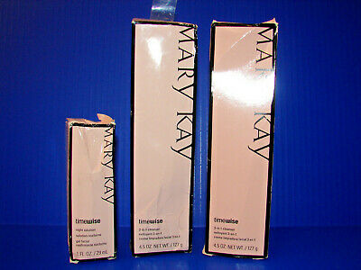 2 PACK Mary Kay Timewise 3 in 1 Cleanser Normal to Dry WITH BONUS NIGHT READ!! ^
