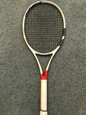 BABOLAT PURE STRIKE (98 sq in) 18x20.....4 3/8 MINT