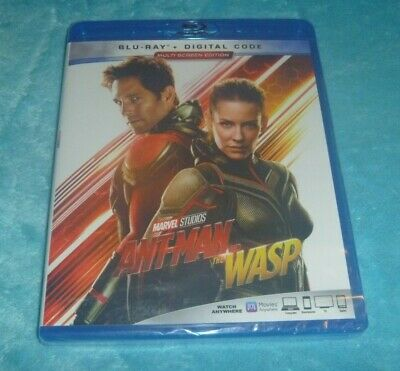 Ant-man and the Wasp (Blu-ray + Digital, 2018, Widescreen ~*BRAND NEW*~)