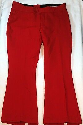 Activewear Bottoms Schoeller Skifans Mens Skiing Overalls Trousers Vintage Stretch Sz 52 Straps